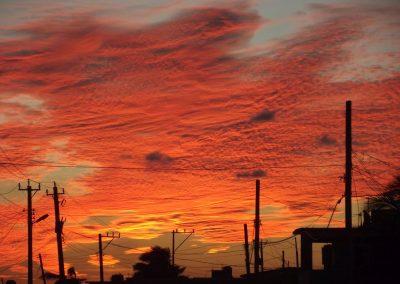 Sonnenuntergang in Playa Baracoa