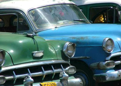 Alte (amerikanische) kubanische Autos