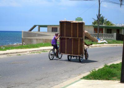 kubanische Art des Transportes
