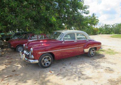 Die kubanische Art des Autofahrens